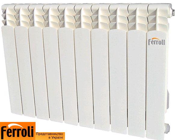 Алюминиевые радиаторы Ferroli Infiniti