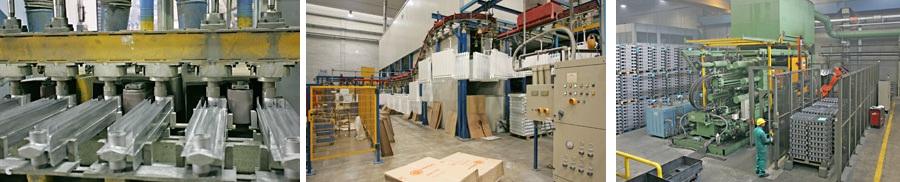 Производство алюминиевых радиаторов
