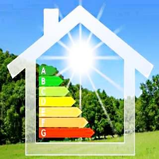 Как повысить энергоэффективность? Картинка дома.