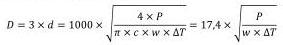 Гидравлическая стрелка. Формула по мощности котла.
