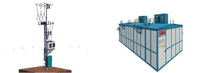 Комплектные трансформаторные подстации - КТП