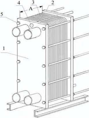 конструкция пластинчатого теплообменника