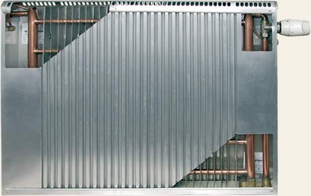 конструкция радиатора термия