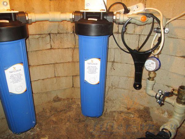 filtr dlja dachi na vodu 1