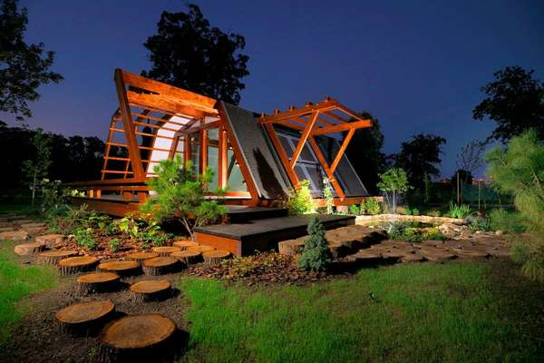 Строительство экологичных деревянных домов