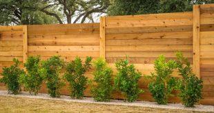 Заборы из дерева для вашего дома