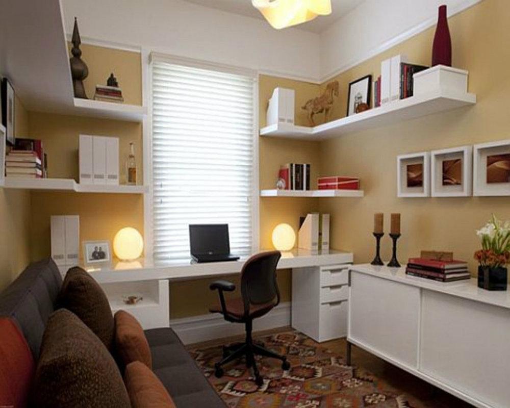 Рабочий кабинет дома