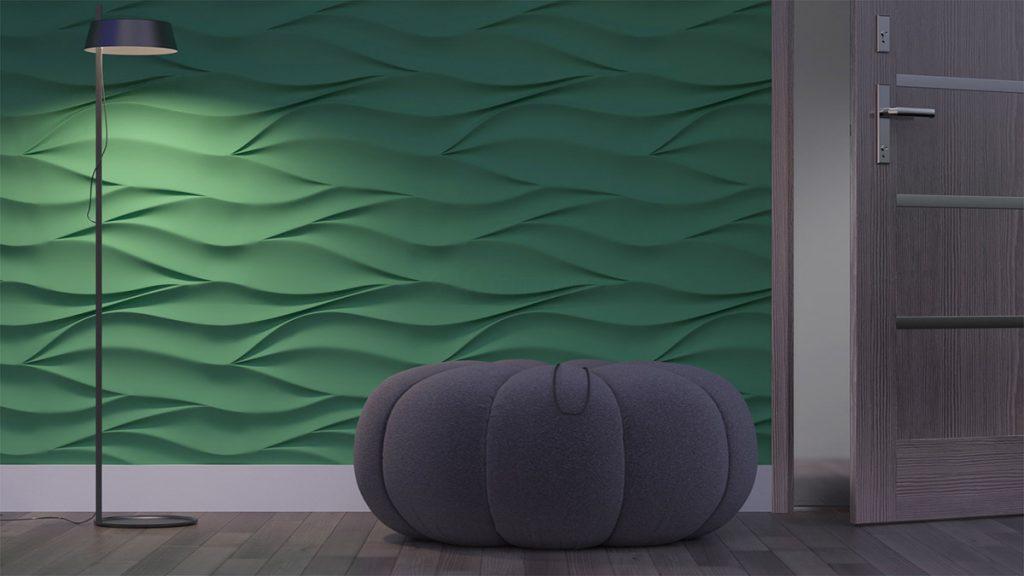 Из каких материалов изготавливают 3D панели