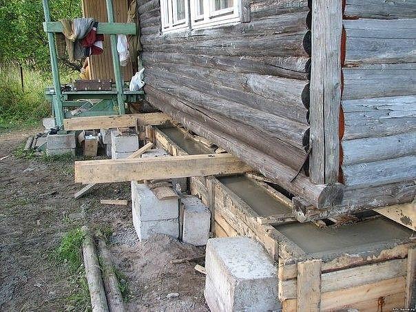 Домик в деревне — выбираем фундамент