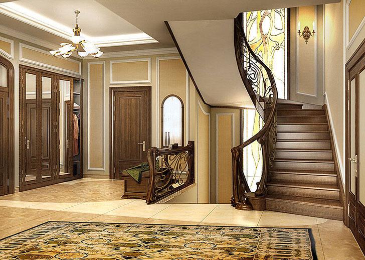 Лестницы в загородном доме