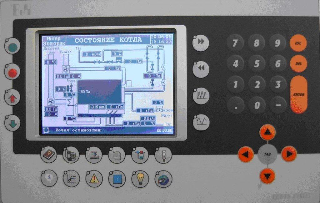 Настройка цифровой панели управления на дизельном электрогенераторе для дома