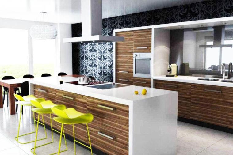 Desain Ruang Makan dan Dapur Terbuka