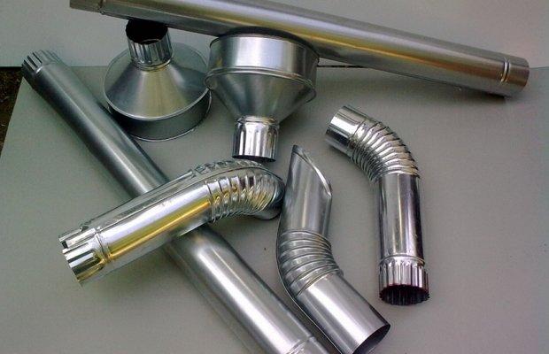metallicheskie ocinkovannye vodostoki kryshi izgotovlenie 1