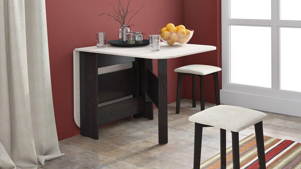 Стол-трансформер для маленькой кухни