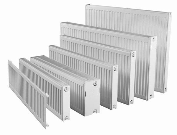 Panelnyj stalnoj radiator dlja obogreva