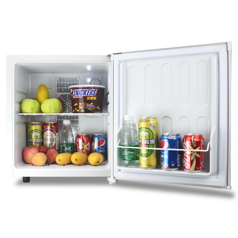 Household Mute 28L Mini Electric Refrigerator Room Hotel Single Compact Fridge Sample Wine Energy Saving Freezer